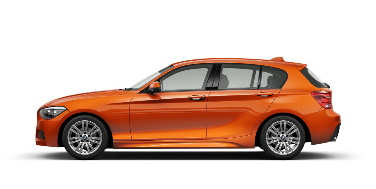 F20 1 Series M Sport In Various Colors Revealed