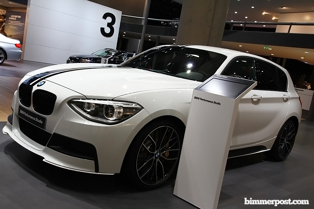 2011 Frankfurt Bmw F20 1 Series Performance Study