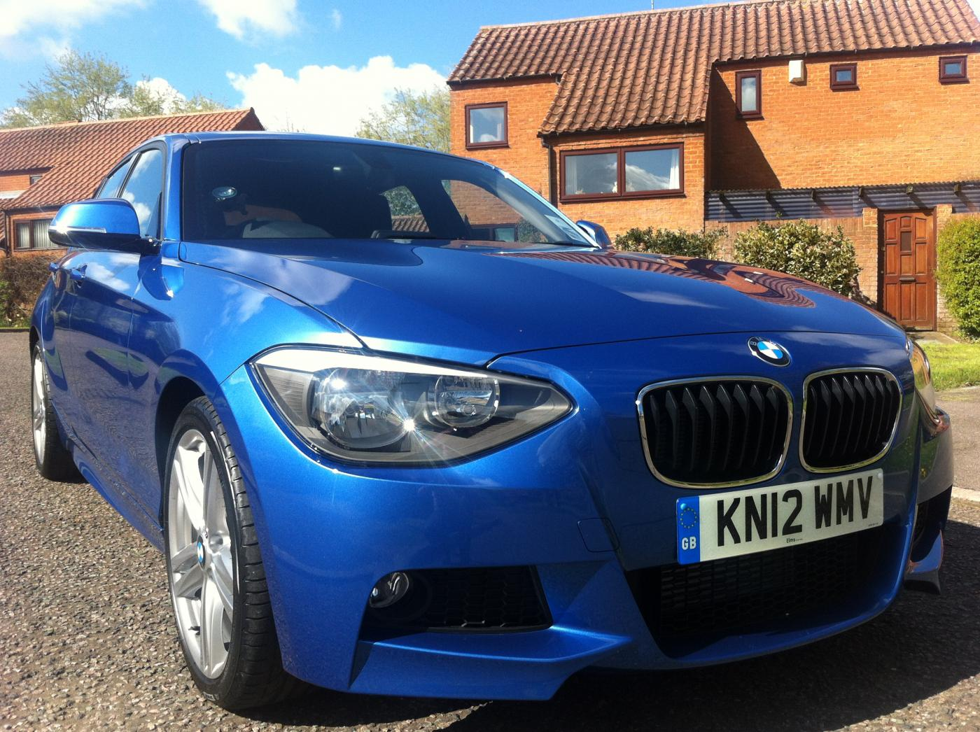 Pics Of My New Estoril Blue 120d M Sport