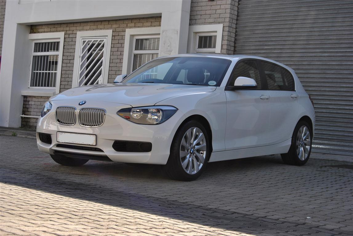 116i Sportline In Mineral White With Urban Line Kidney