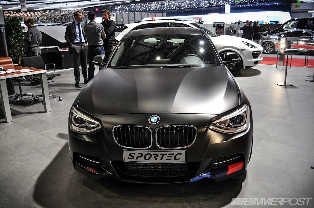 bmw m135i tuned by sportec up to 370 hp. Black Bedroom Furniture Sets. Home Design Ideas