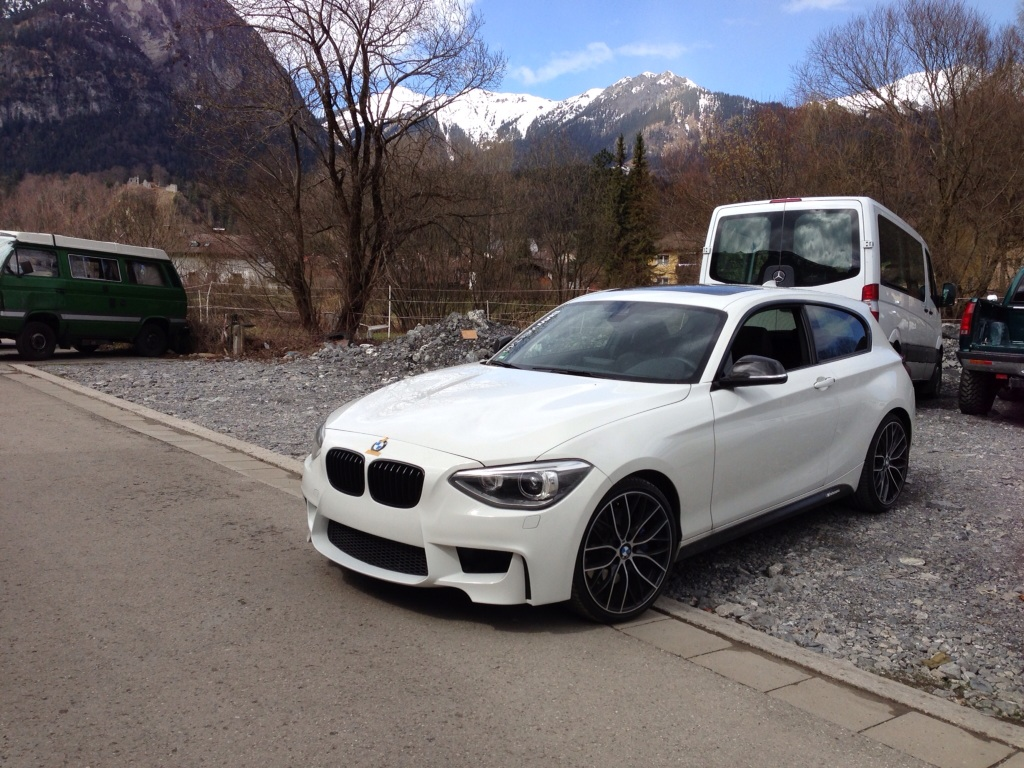 Bmw M135i With 1m Front