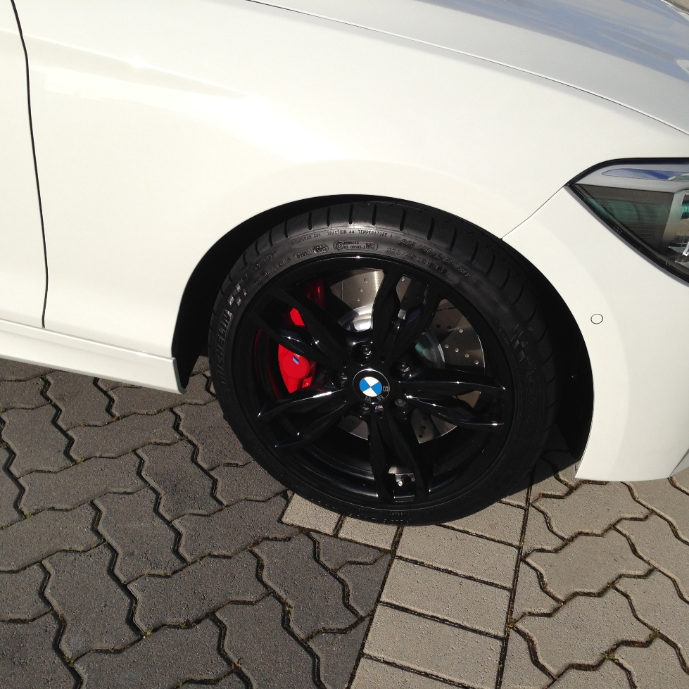 BMW M135i//M140i /'M/' Style Ferric Grey Painted Mirror Caps F20//F21 1 Series 2012+