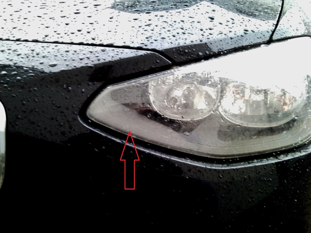 Headlight Condensation